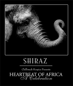 Heartbeat of Africa Wine Label