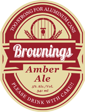 Beer II - Stout Oval