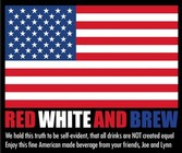 All Labels - Red White and Brew