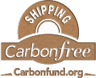 SHIPPED CARBON free with Carbonfund.org