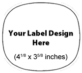 Submit Your Own Design Wine Labels - Cooper Horizontal