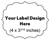 Submit Your Own Design Wine Labels - Doily