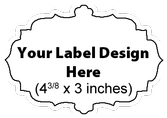 Submit Your Own Design Wine Labels - French Cut