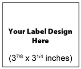 Submit Your Own Design Wine Labels - Large Horizontal