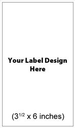 Submit Your Own Design Wine Labels - Magnum Vertical