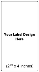 Submit Your Own Design Wine Labels - Round Edge